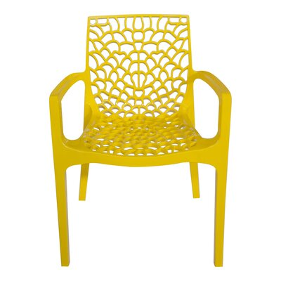 Arm Chair Finish: Yellow