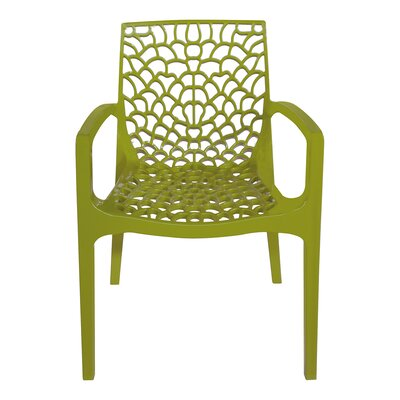 Arm Chair Finish: Anise Green