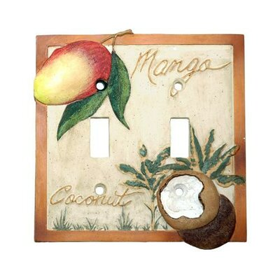 Mango Bay Double Switch Plate