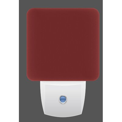 LED Night Light Color: Red Sedona