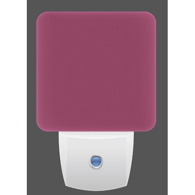LED Night Light Color: Pink Cheer