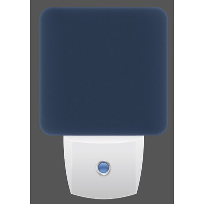 LED Night Light Color: Navy
