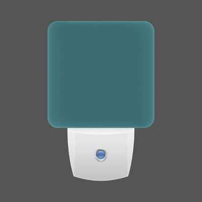 LED Night Light Color: Turquoise