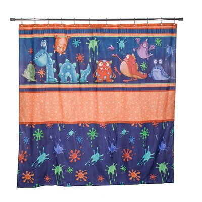 Joseph Monster Splat Shower Curtain