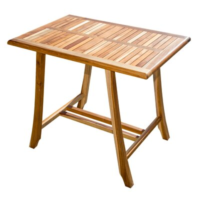 Satori Teak Dining Table Color: Natural