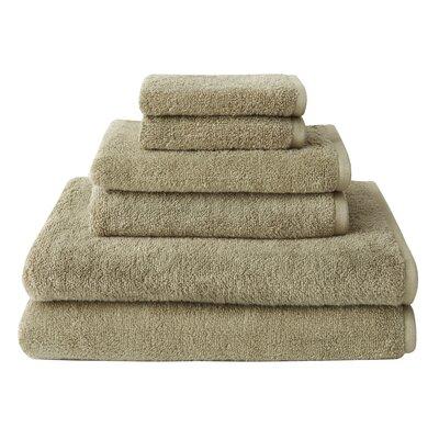 Welspun Amaze™ 6 Piece Towel Set - Color: Twill