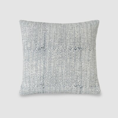 Bardem Spun Threads with a Soul� Zig Zag 100% Cotton Throw Pillow