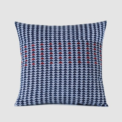 Fernandez Spun Threads with a Soul�EArrow Woven 100% Cotton Throw Pillow