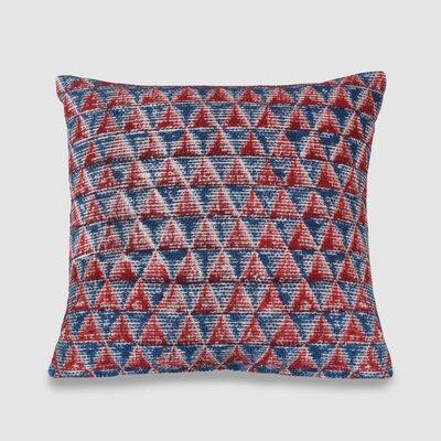 Denice Spun Threads with a Soul Diam 100% Cotton Throw Pillow