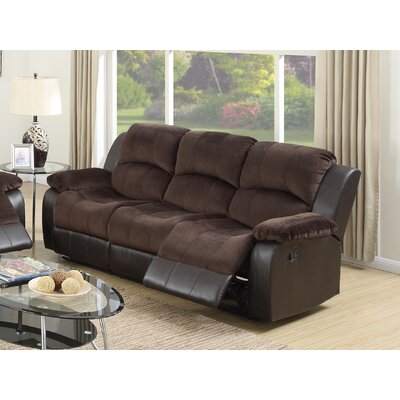 Infini Furnishings INF6696JB Michael Reclining Sofa