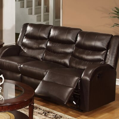 Infini Furnishings INF6655JB Liam Reclining Sofa
