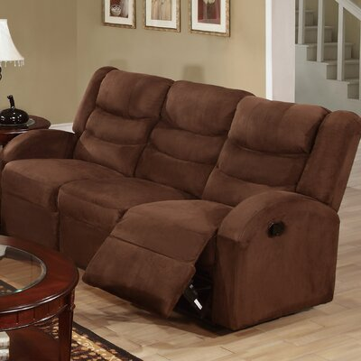Infini Furnishings INF6668JB Mason Reclining Sofa