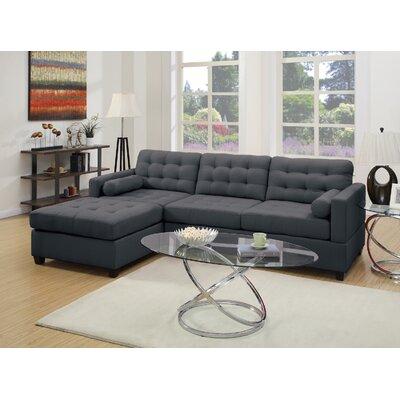 Infini Furnishings INF7587JB Sectional Upholstery