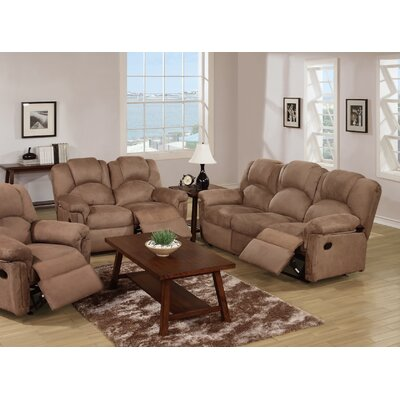 Infini Furnishings INF66876688JB Reclining Sofa and Loveseat Set