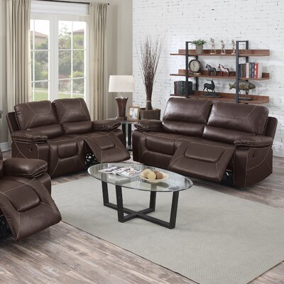 INF67276728JB Infini Furnishings Dark Brown Living Room Sets