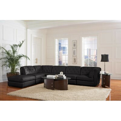 Modular Sectional Upholstery: Black