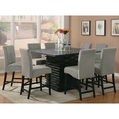 Jordan 9 Piece Counter Height Dining Set
