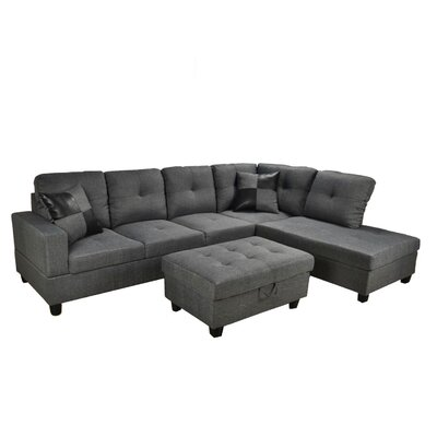 Infini Furnishings INF108BJB Sectional