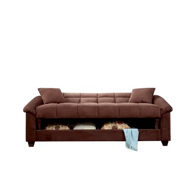 Convertible Sofa Upholstery: Chocolate