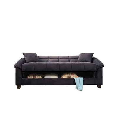 Convertible Sofa Upholstery: Ebony