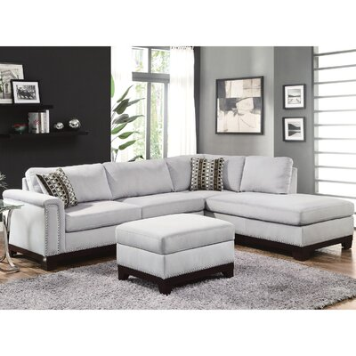 Infini Furnishings INF503615JB Reversible Chaise Sectional