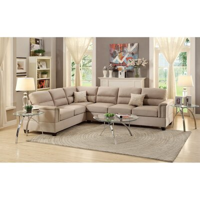 Infini Furnishings INF7860JB Reversible Sectional