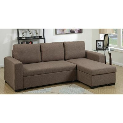 Infini Furnishings INF6932JB Sleeper Sectional Upholstery