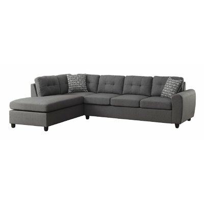 Infini Furnishings INC500413JB Reversible Chaise Sectional