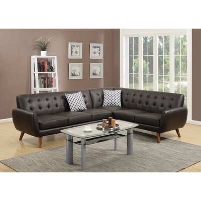 Infini Furnishings INF6960JBW Sectional
