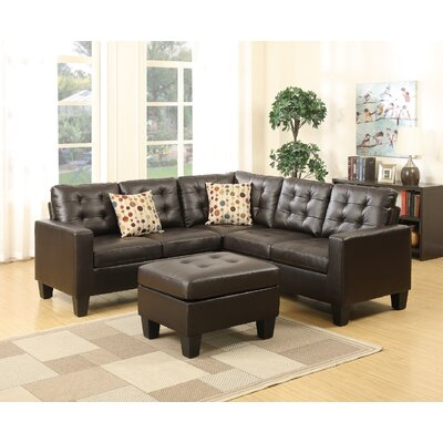 Infini Furnishings INF6934JBW Sectional
