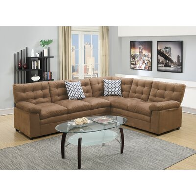 Sectional Upholstery: Saddle Tan