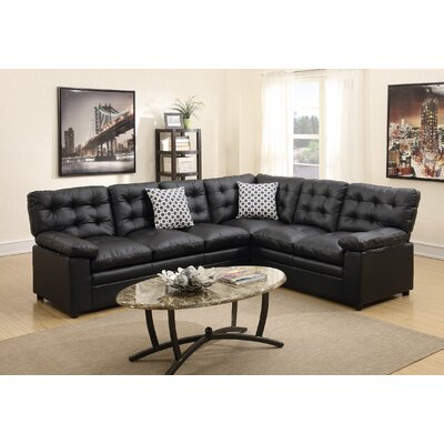 Infini Furnishings INF6959JBW Sectional Finish