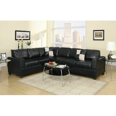 Infini Furnishings INF7630JB Reversible Sectional