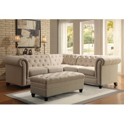 Infini Furnishings INC500222JB Auburn Sectional