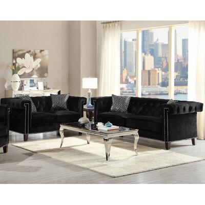 Gloversville 2 Piece Living Room Set