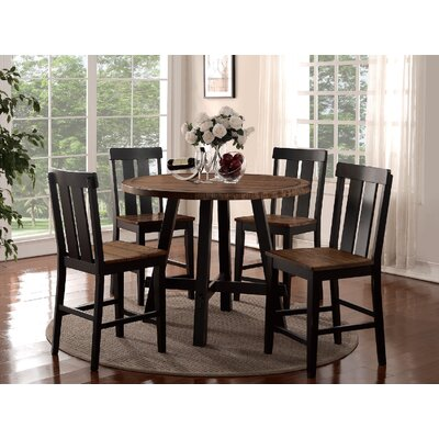 Goodman 5 Piece Counter Height Dining Set