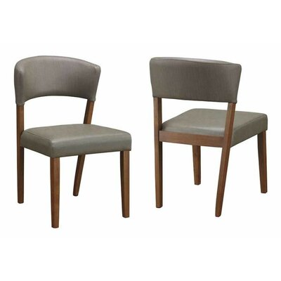 Sara Side Chair Color: Cement Gray