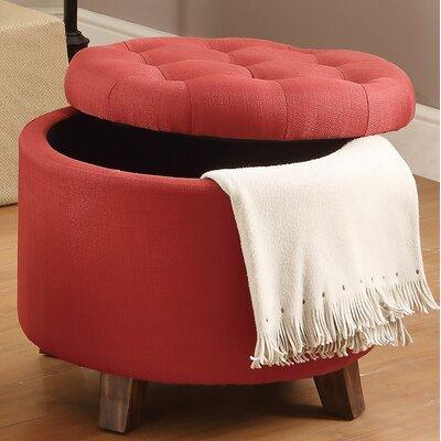 Storage Ottoman Upholstery: Carmine