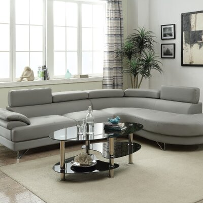 Ketan Sectional Upholstery: Gray