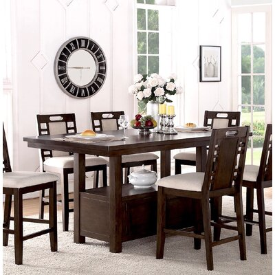 Nika Dining Table Size: 36 H x 66 W x 42 D