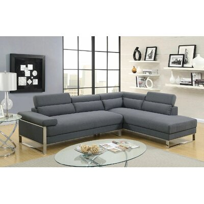 Ketan Ii Sectional Upholstery: Gray