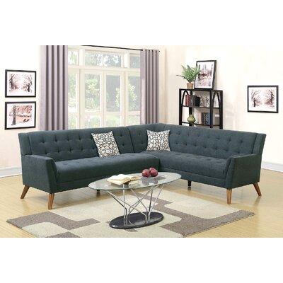 Engelman Sectional Upholstery: Slate