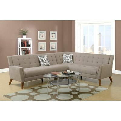 Engelman Sectional Upholstery: Tan