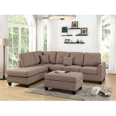 Chapin Sectional Upholstery: Coffee