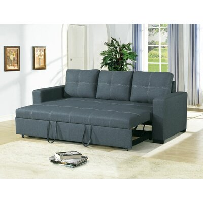 Clauderson Convertible Sofa Upholstery: Blue/Gray