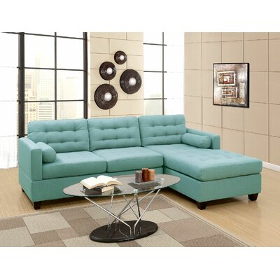 Engram Reversible Sectional Upholstery: Laguna