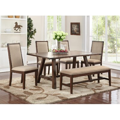Chandeleur 6 Piece Dining Set