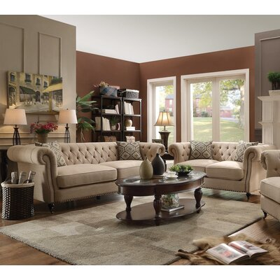 Oribe 2 Piece Living Room Set