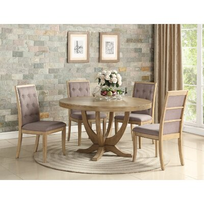 Keister 5 Piece Dining Set