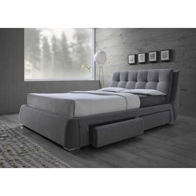 Oloughlin Upholstered Panel Bed Size: California King